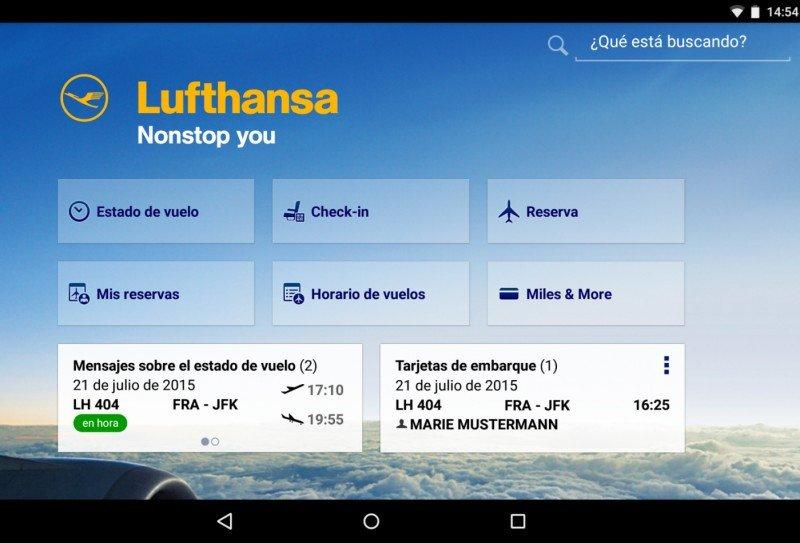 Lufthansa, primera aerolínea que se lanza con Google Flights a la venta directa