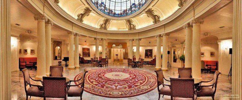 El hotel Carlton, en Bilbao, se ubica en un edificio que fue sede del Gobierno Vasco durante la Guerra Civil.