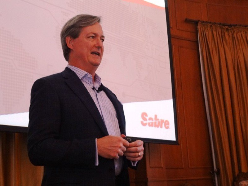 Vicepresidente Senior de Marketing y Estrategia de Sabre, el estadounidense Wade Jones.