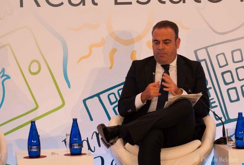 Gabriel Escarrer en su intervención en el Mediterranean Resort and Hotel Real Estate Forum.