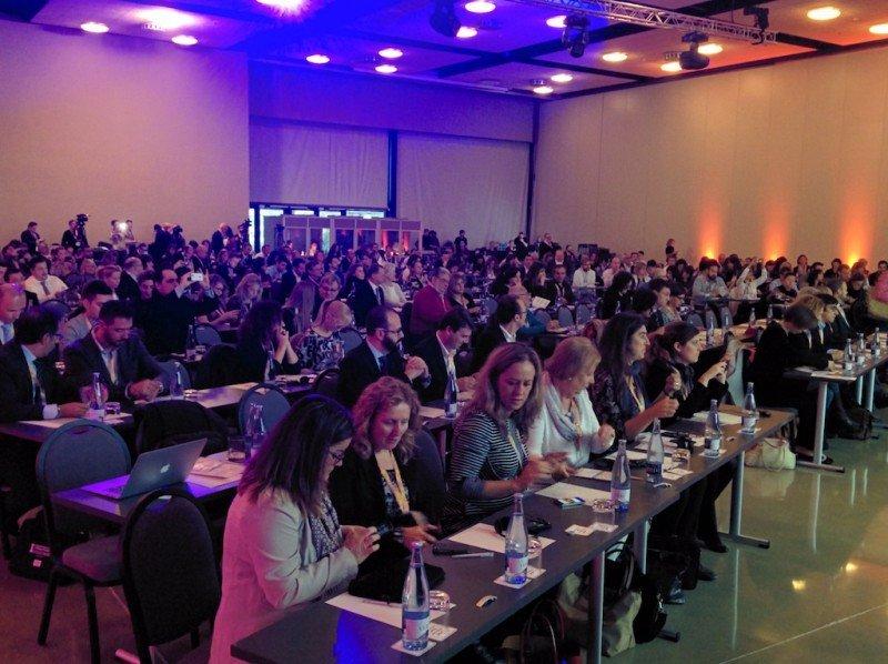 Una imagen del Congreso Internacional de Turismo Familiar, en el centro de convenciones de PortAventura.