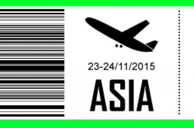 Imagen promocional del congreso de turismo asiático.