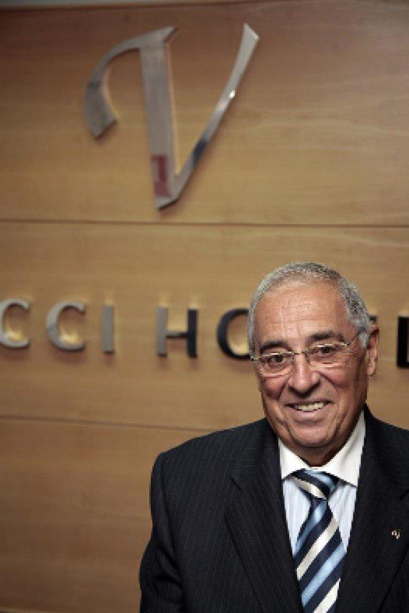 Rufino Calero fundó Vincci Hoteles en el año 2000 y hoy ya cuenta con 35 establecimientos en España, Túnez y Portugal.