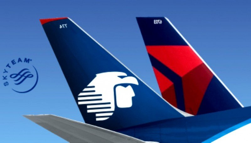 Delta Airlines quiere el 49% de Aeroméxico