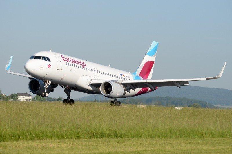 Eurowings opera Airbus A320-200.