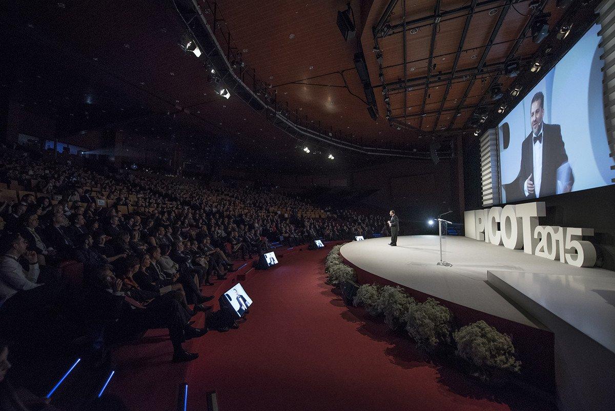 La gala contó con la asistencia de más de 1.200 personas.  Fotografías de Miguel Ángel Muñoz Romero