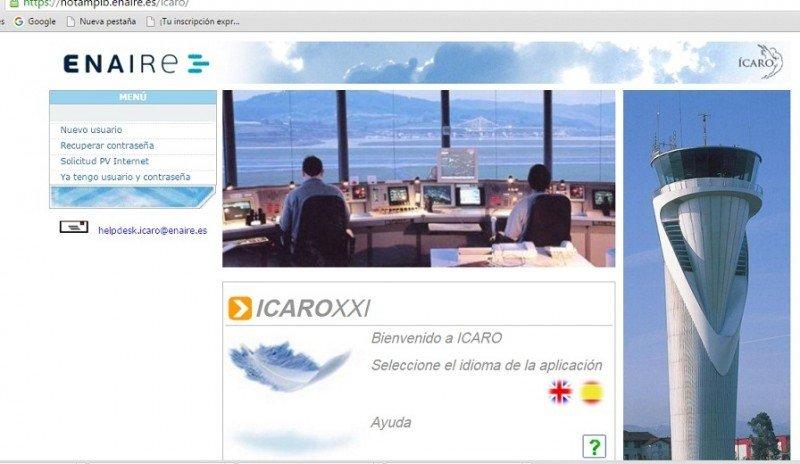 Plan de vuelo online, nuevo servicio de Enaire