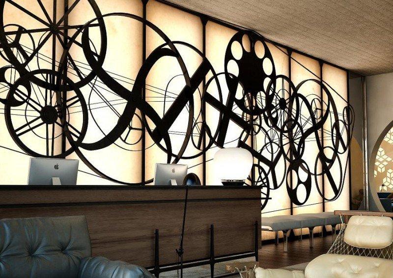 En el lobby se ubica uno de sus dos bares, que junto con el de la terraza y su restaurante, completan su oferta gastronómica.