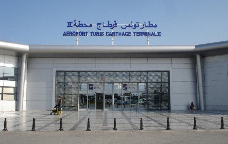 Aeropuerto Internacional Túnez-Cartago, Terminal 2 (Foto: Mutari - Trabajo propio. Wikimedia Commons).