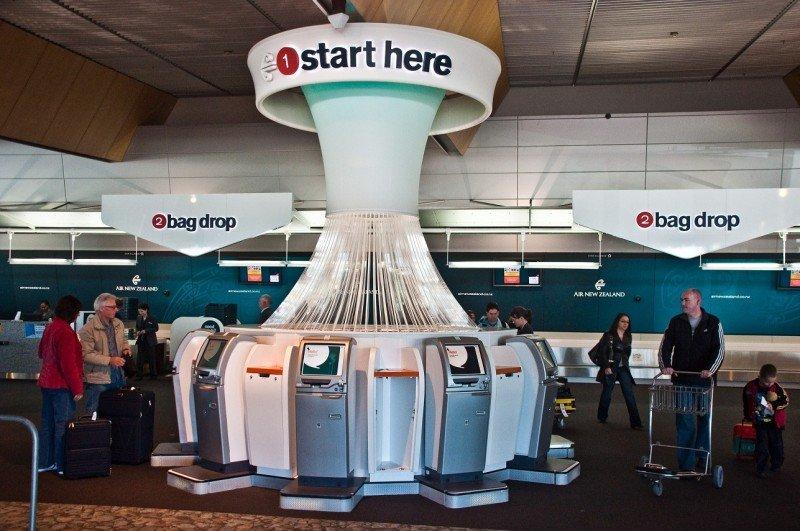 Air New Zealand ya permite a sus pasajeros pesar, identificar y entregar su equipaje.