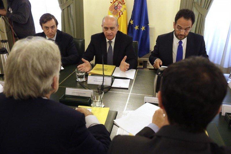 Reunión en Barcelona.