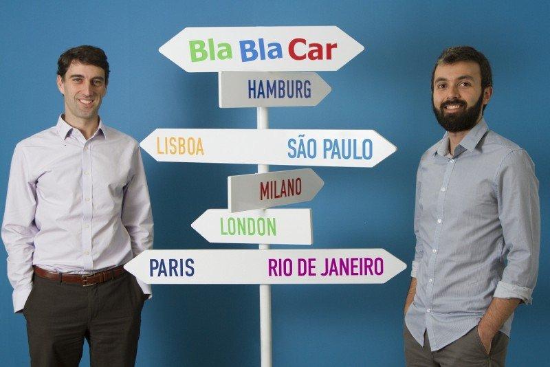 Julien Lafouge (Izq.) y Ricardo Leite (Da.) formarán parte del equipo de BlaBlaCar en Brasil.