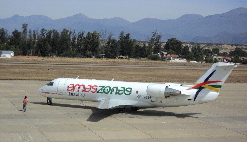 Amaszonas abre vuelos directos entre La Paz e Iquique.