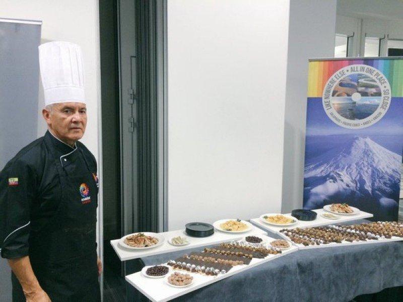 El país puso el acento en uno de los productos que lo distinguen mundialmente: el chocolate.