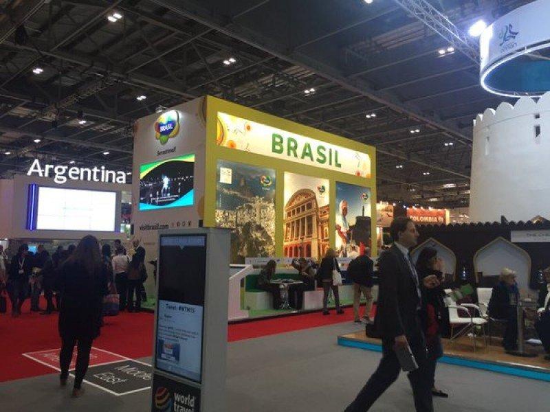 Sector latinoamericano en la WTM 2015 de Londres.