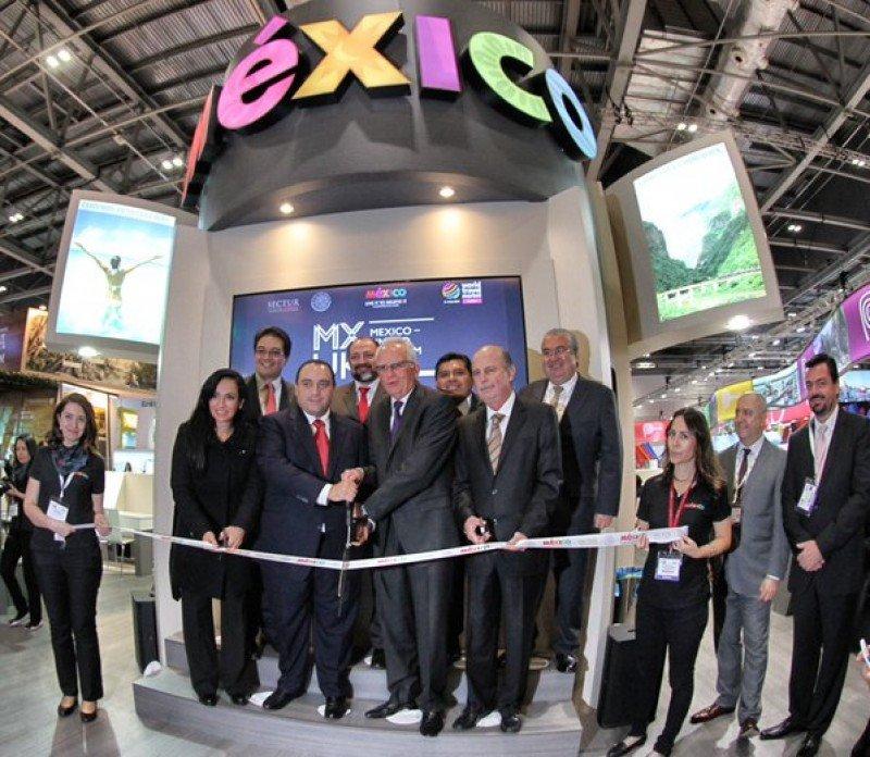México fue el país invitado en la WTM 2015.