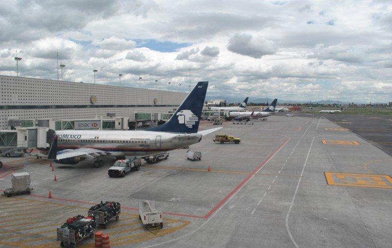 Aeropuerto Benito Juarez, Ciudad de México.
