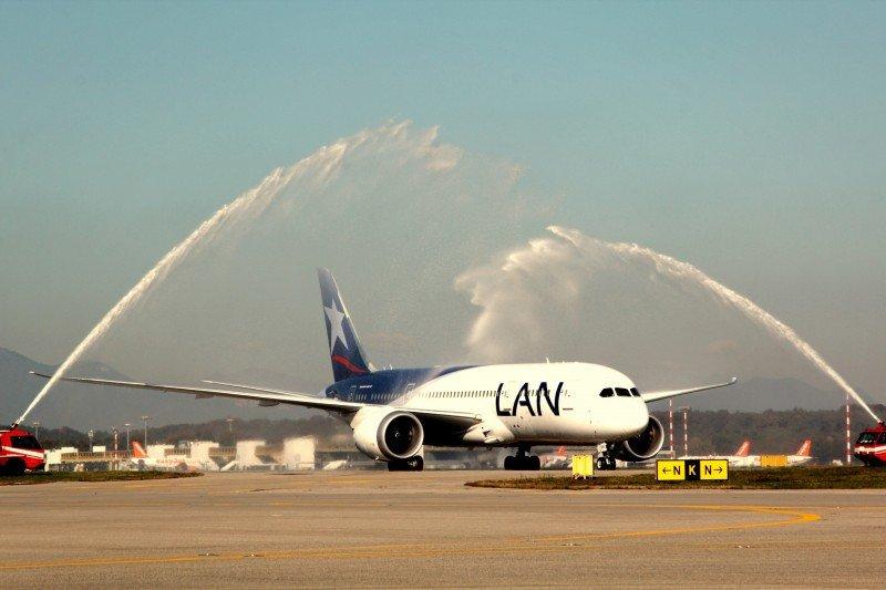 Santiago de Chile y Milán conectados con LAN.