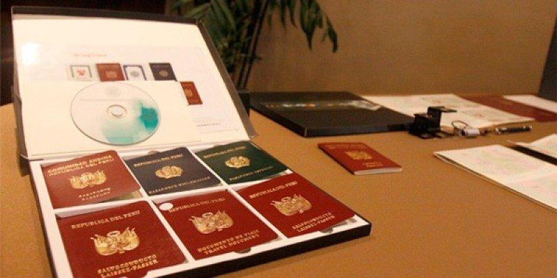 Perú contrata pasaportes electrónicos por US$ 32 millones