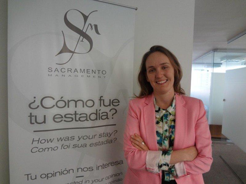 Guillermina Frick, jefa de Comunicación de Sacramento Management.