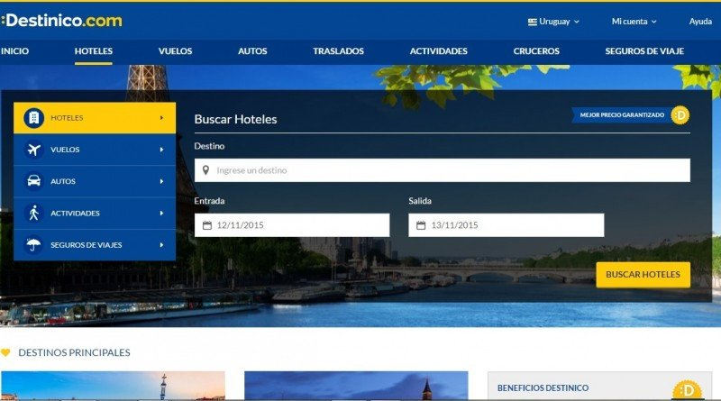 Cancún y Rio son los destinos más vendidos en Destinico en octubre