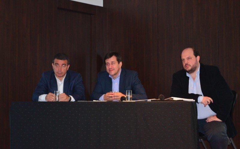 Fabián Lombardo (Gerente Comercial); Mariano Recalde (Presidente); Pablo Ceriani (CEO).