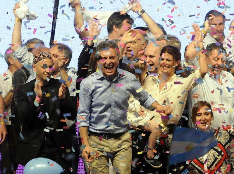 Argentina cambia de signo político con el triunfo de Macri