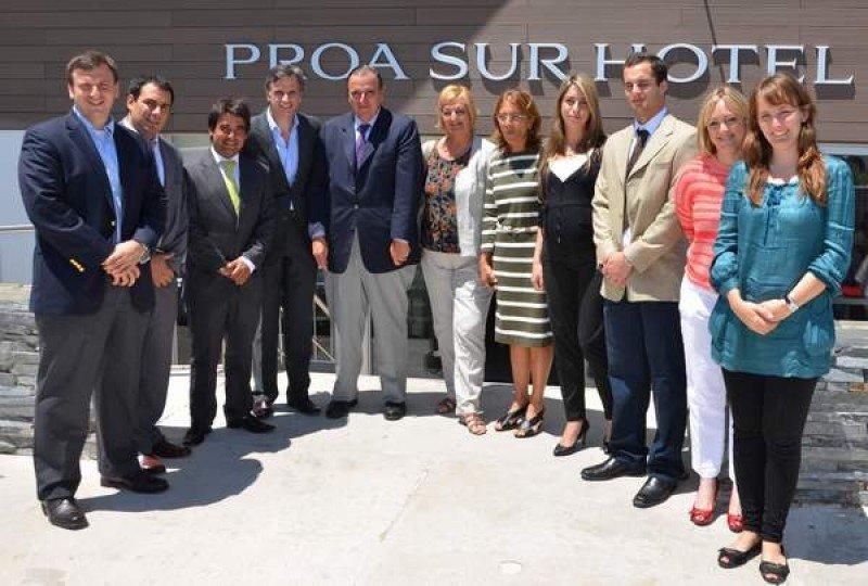 Inauguración de Proa Sur Hotel en La Paloma. Foto: Pasaporte News
