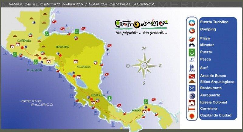Usarán identificación regional: 'Centroamérica, tan pequeña-tan grande'.