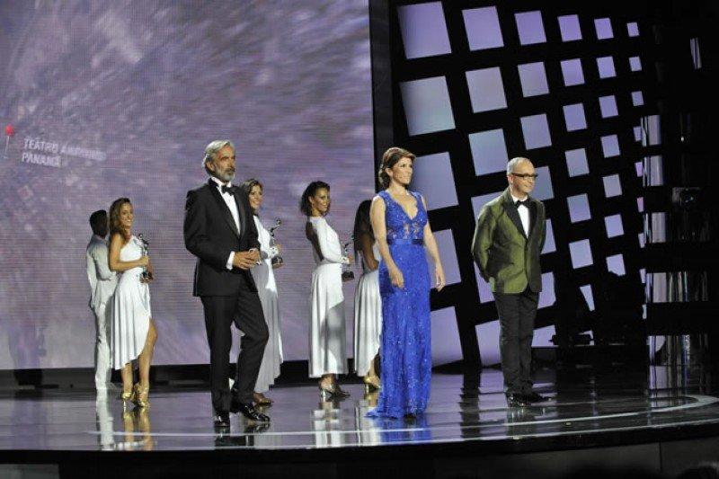 Gala de los Premios Platino 2015 en Marbella.