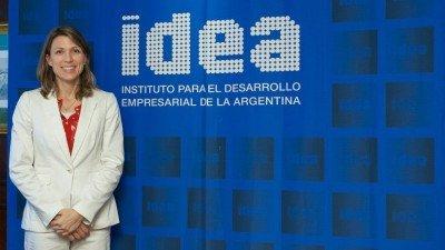 Isela Costantini, preside General Motors de Argentina, la Asociación de Fabricantes de Automóviles y el coloquio IDEA.