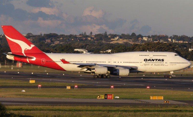 Qantas refuerza frecuencia entre Santiago de Chile y Sydney