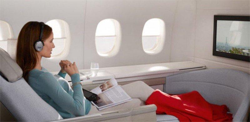 Clase Premmiere de los Boeing 777-200 de Air France.