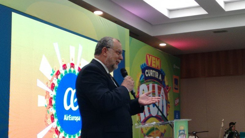 Enrique Martín -Ambrosio, director general de Air Europa para Brasil y responsable de Expansión en América Latina.