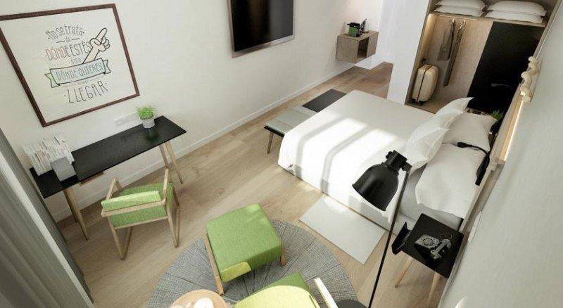 Sus 83 habitaciones tienen una superficie media de 30 metros cuadrados.