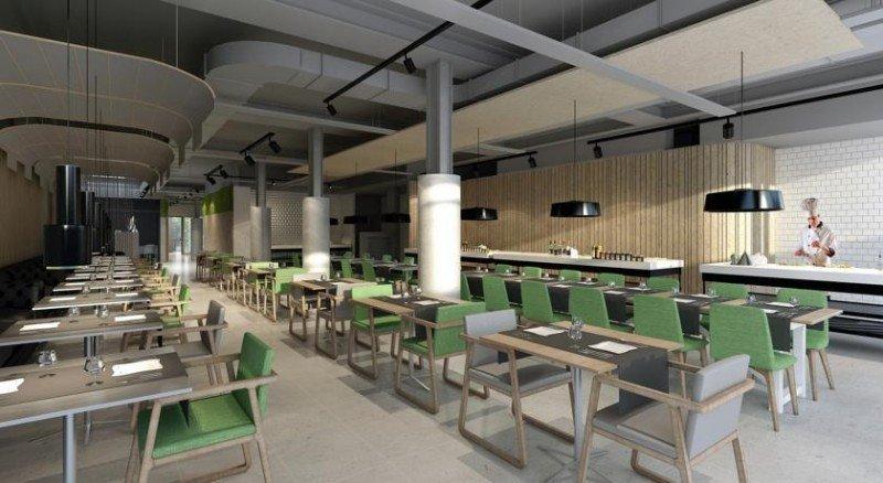 El Slow Lounge es una zona diáfana y con luz natural en la que se puede desayunar, trabajar de forma informal y practicar networking.