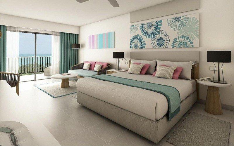 El resort cuenta con 470 habitaciones de tres categorías. En la imagen, la Deluxe Privilege.