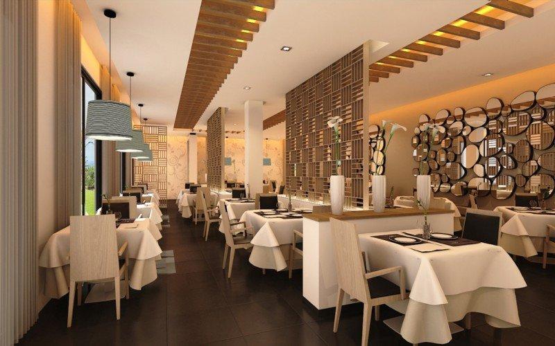 Uno de sus seis restaurantes es el gourmet con toques de gastronomía caribeña (en la imagen).