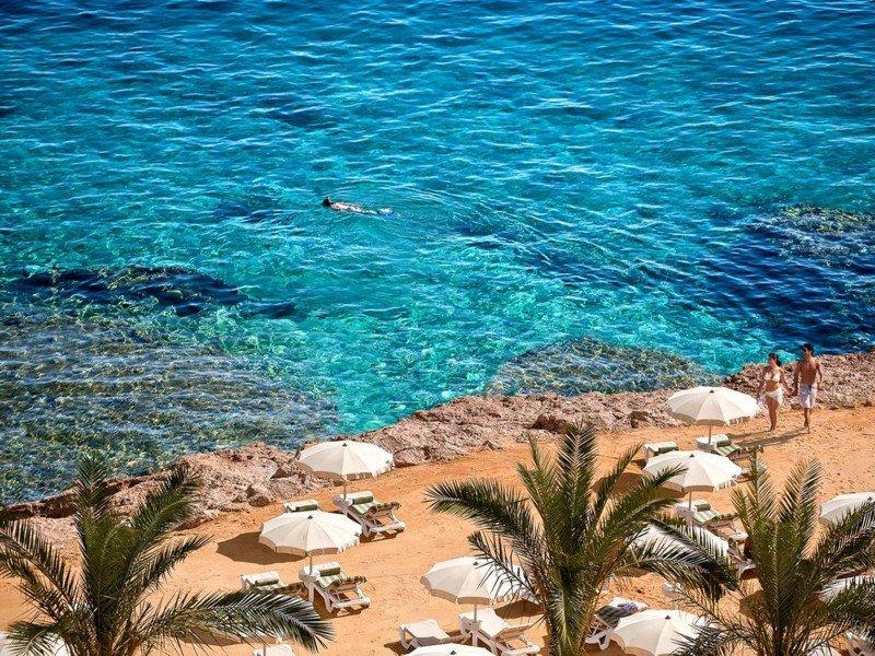 Imagen de archivo de turistas en el resort egipcio de Hurghada, en el Mar Rojo.
