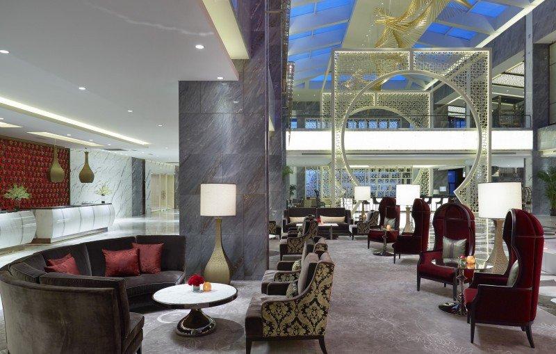Lobby del Gran Meliá Xian.