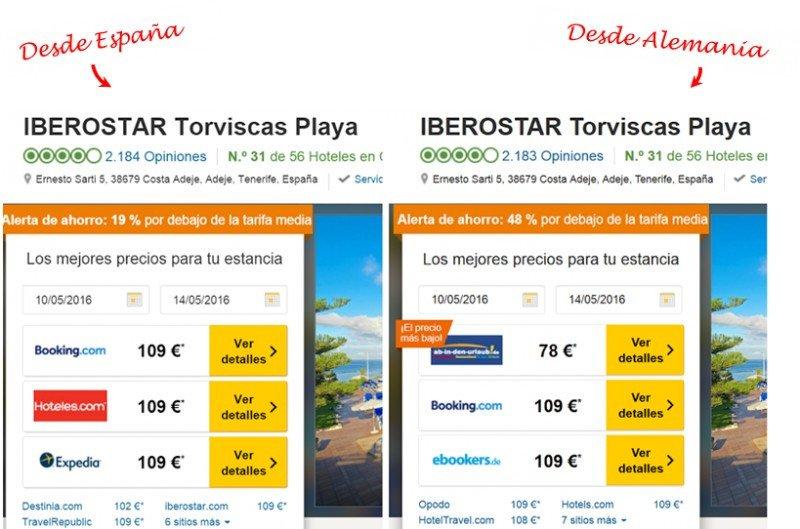 ¿puede obtener mejores tarifas directamente con el hotel?