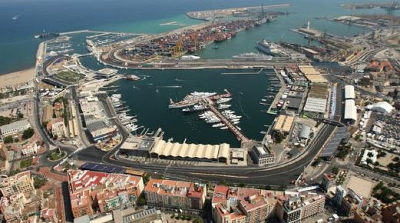 La Marina Real de Valencia.
