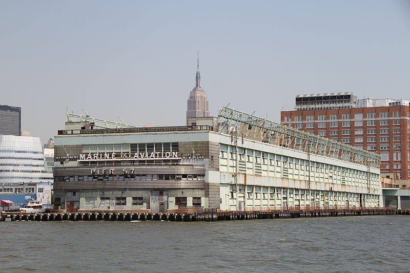 El Muelle 57 de Nueva York.