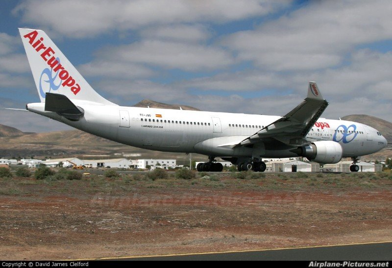 Air Europa arranca sus vuelos Madrid-Asunción casi al completo (Foto: Airplane Pictures).
