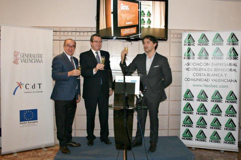 De izq. a dcha., Antonio Mayor, Antonio Pérez y Francesc Colomer.