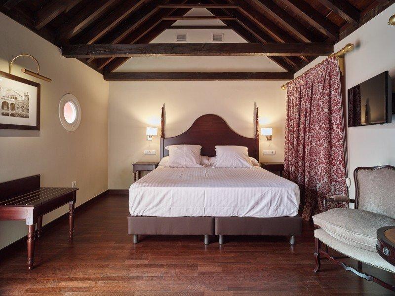 Los precios subieron un 5% en Andalucía. Foto: Hotel las Casas del Arenal, en Sevilla.