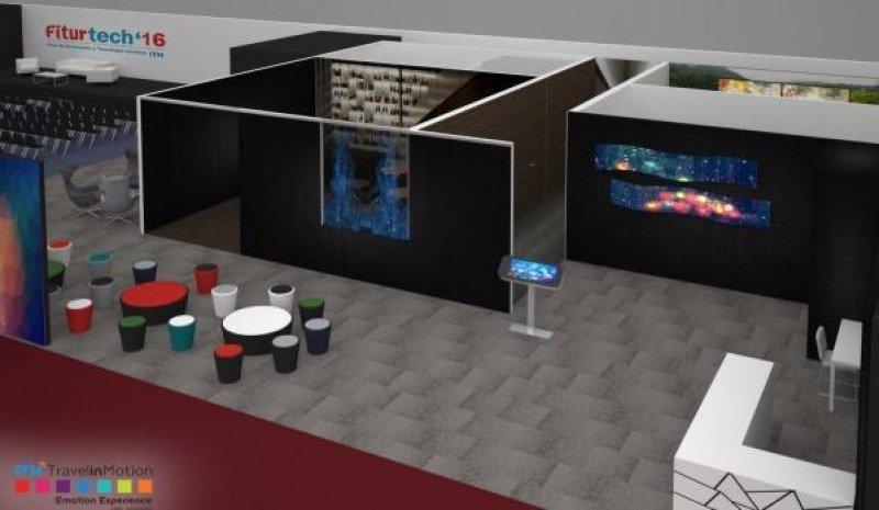 ITH y Emotion Experience han diseñado un espacio inmersivo de 200 metros cuadrados que recrea cómo será el hotel del futuro.