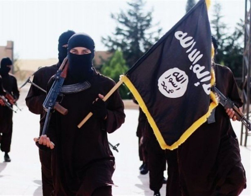Terroristas de Estado Islámico.