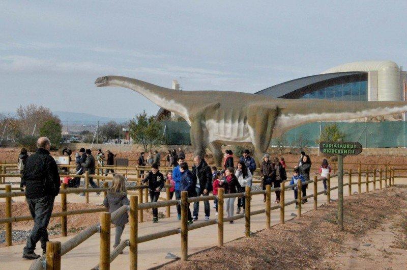 La nueva zona temática Dinópolis-Tierra Magna.