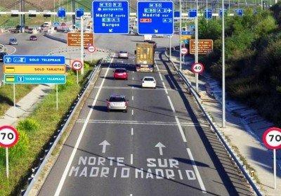 El precio del peaje en las radiales de Madrid subirá un 1,34.